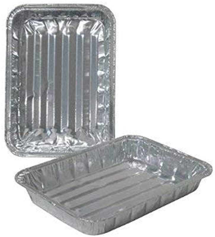 Toaster Oven Small Disposable Reuseable Aluminum Broiler Pan Healthy Cooking Pans With Ridges Set Of 36 8 75 X 6 25 X 1 125
