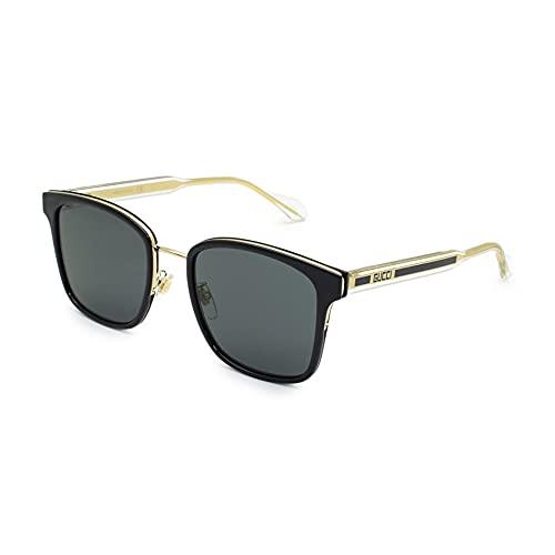 Gucci Gafas de Sol GG0563SK Black/Grey 55/21/150 hombre