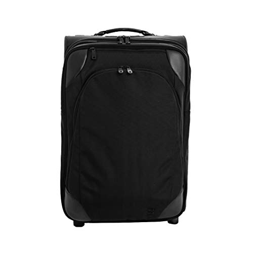 GATE8 Cabin Approved Hand Luggage Suitcase for BA Easyjet - Crew Mate 60 Litre - 2-in-1 Design Includes a Zip-Off Laptop Backpack