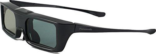 Panasonic TY-ER3D6ME - Gafas 3D activas 2016 (Sistema Active Shutter 3D, batería de Litio, Banda FH-SS de 2.4 GHz) Color Negro