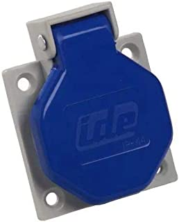 Base empotrar IP67-16A-2P+T-250V IDE 00105 Bases Tipo Schuko