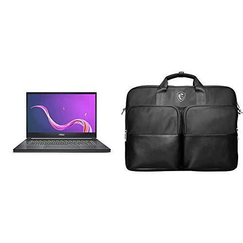 MSI Creator 15 A10SDT-065ES - Ordenador portátil de 15.6' FullHD Táctil (Intel Core i7-10750H, 32 GB RAM, 1 TB SSD, Nvidia GTX1660 Ti-6GB, Windows 10 Home Advanced) Negro + MSI TOPLOAD Bag_Black