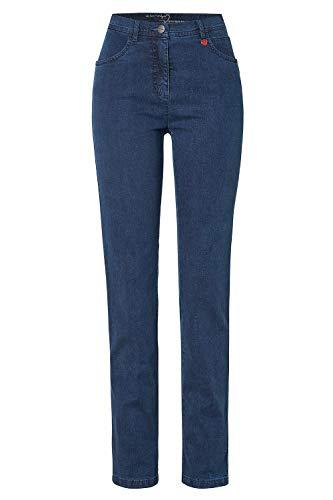 Relaxed by Toni Damen 5-Pocket-Jeans »Meine Beste Freundin« in schmaler Passform 48 dunkelblau