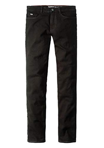 Paddocks`s Herren Jeans Ranger - Slim Fit - Schwarz - Black/Black, Größe:W 36 L 34, Farbe:Black/Black (6001)