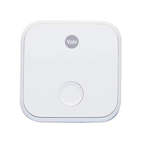 Yale 05/401C00/WH - Conector Puente Wifi Para Cerradura Inteligente, color blanco, g plug