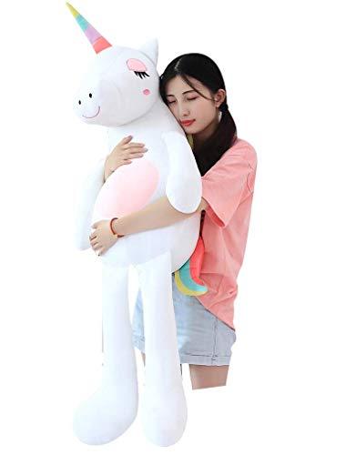 ABIA Engel Einhorn Plüsch Puppe Ragdoll Kuscheltiere senden Geburtstagsgeschenke Geschenke für Mädchen Kissen für Kinder Tier Kissen