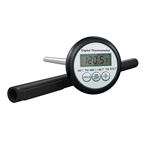 Boji Termómetro de barbacoa, sonda digital portátil para alimentos, carne, cocina, cocina, barbacoa, termómetro de temperatura de líquido