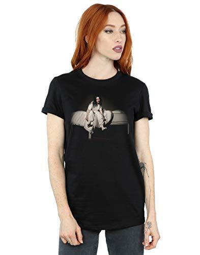 Absolute Cult Billie Eilish Femme Sweet Dreams Petit Ami Fit T-Shirt Noir Small