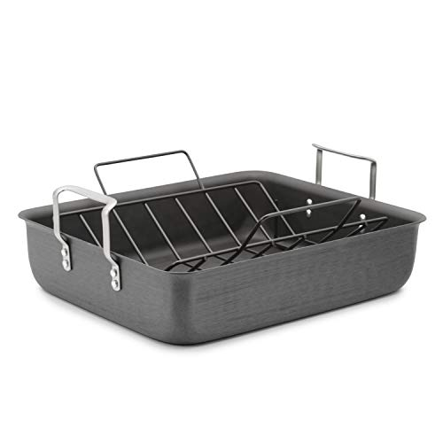 Calphalon Classic 16-Inch Roaster with Nonstick Rack