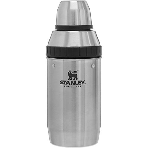 Stanley Unisex - Adults ADVENTURE COCKTAIL SHAKER SET 0.591 L, Silver, Stainless Steel