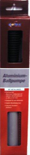 Solex Sports Metallo Ball Pompa valvola a Spillo, Colore Nero, 37x 3,4x 3,4cm, 45890