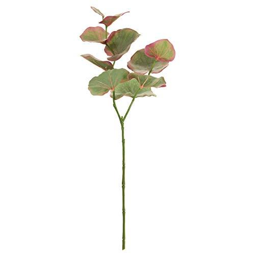 東京堂 造花 グリーンパープル 葉の全長 約5~14×全長 約73cm MAGIQブランド ユーカリモデラート FG000499