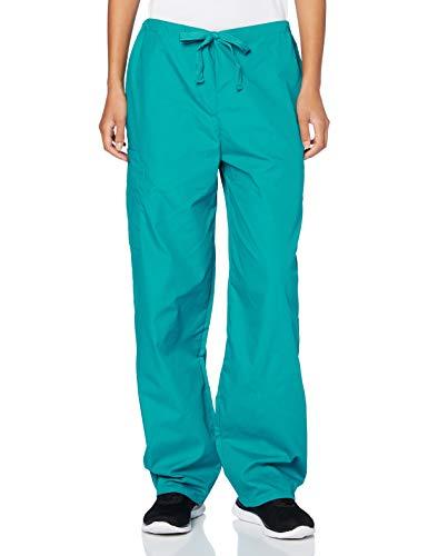 Adar Pantalones Médicos - Pantalones de Uniforme Médico Unisex - 504 Color: BLK | Talla: M