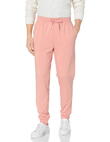 Amazon Brand - Goodthreads Men's Lightweight French Terry Jogger Pant, Coral, XX-Large