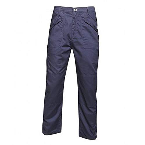 Regatta - Pantalón de Trabajo Original Action para Chico Hombre (38/L) (Azul Marino)