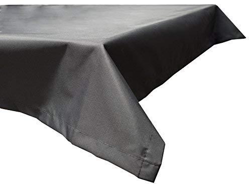 Beo Outdoor tafelkleden waterafstotend, hoekig, 130 x 180 cm, antraciet