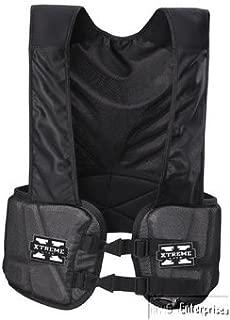 Bike football Xtreme lite hard shell rib pad protection guard vest NEW BARV50T L
