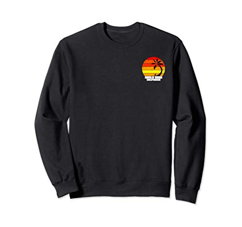 Santa Cruz vintage retro Surfboard Summer and weekend Sudadera