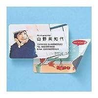 (まとめ)サンワサプライ インクジェットフォト光沢名刺カード・角丸 JP-MCMARUGK【×5セット】