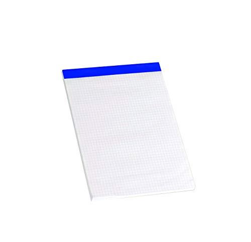 Enri 100104572 - Pack de 5 blocs de notas grapados sin tapa, A5