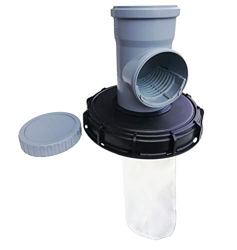 FN-Technik IBC Deckelfilter Duo Filtersystem Serviceöffnung, Deckelgröße/Filtertyp:Deckel DN 225 Filter Nylon