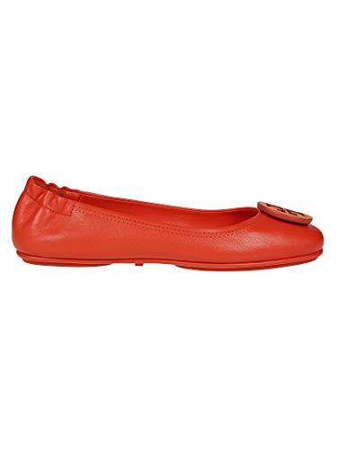 Tory Burch Luxury Fashion Damen 56464811 Rot Leder Ballerinas | Jahreszeit Outlet