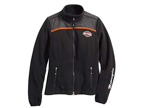 HARLEY-DAVIDSON Miss Enthusiast Fleece Damen Jacke, 98585-17VW, XS