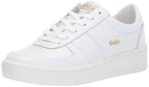 Gola Damen Cla567 Sneaker, Weiß (White/White/White WW), 41 EU