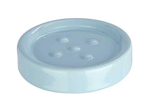 WENKO Seifenablage Polaris Pastel Blue Ablage Bad-Accessoire Badezimmer
