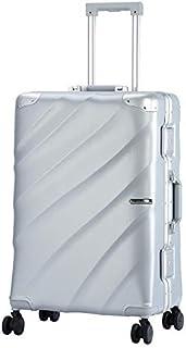 Luggage Trolley Case 24 Inch Fashion Twill Men's Suitcase Trolley Universal Wheel Personalized Trolley Luggage,C,24inch
