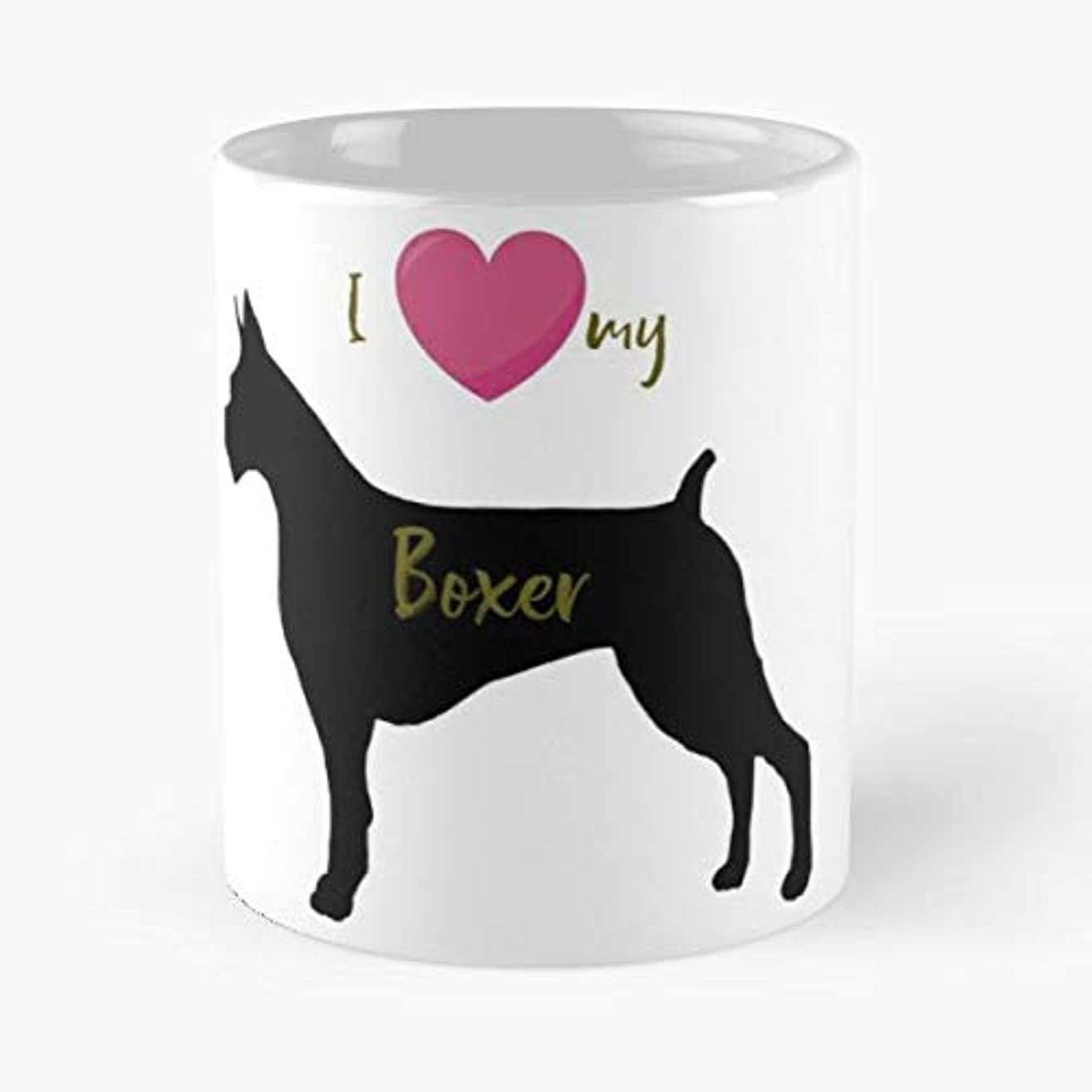 Dog Breed Lovers Boxer - Funny Gifts For Men And Women Gift Coffee Mug Tea Cup White 11 Oz The Best Gift Holidays.