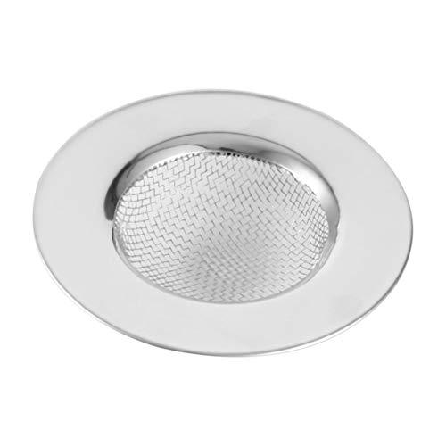 1 filtro de acero inoxidable para fregadero de desagüe de acero inoxidable para evitar obstrucciones.