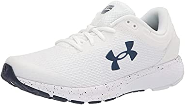 Under Armour Men's Charged Escape 3 BL Running Shoe, White (106)/Academy Blue, 11