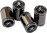 4 Pezzi Auto Tappi Cappucci Protettivi Valvole Pneumatici Per Citroen Logo C2 C3 C4 C5 C6 C4l Ds3 Berlingo, Decorazione Protezione Dalle Perdite Impermeabili Materiale