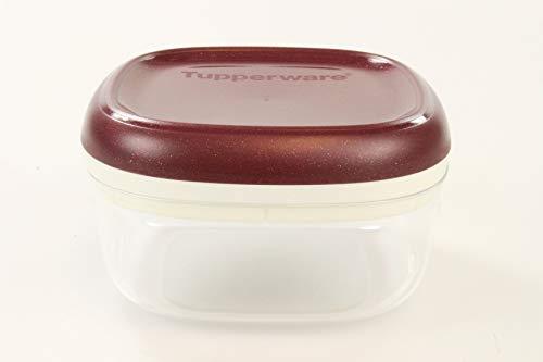 TUPPERWARE Clear Collection 240 ml Crystal bordeaux avec des paillettes