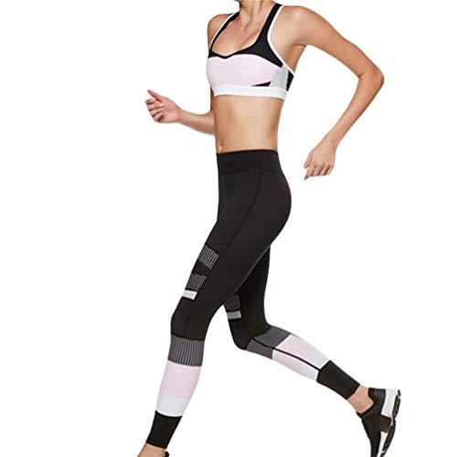 Adelina dames zomer hoge fitness yoga sport taille broek prints dansen modieuze completi neon punten yoga leggings joggingbroek