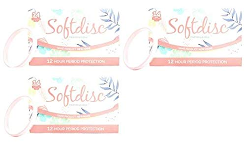 Softcup, 14 Disposable Menstrual Discs (Pack of 2)