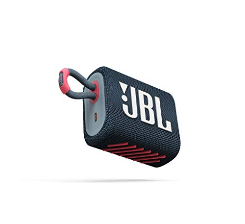 JBL GO 3 - Altavoz inalámbrico portátil con Bluetooth, resistente al agua...