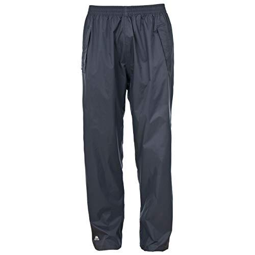 Trespass Qikpac Pant Pantalons imperméables Homme, Gris Silex, XXL