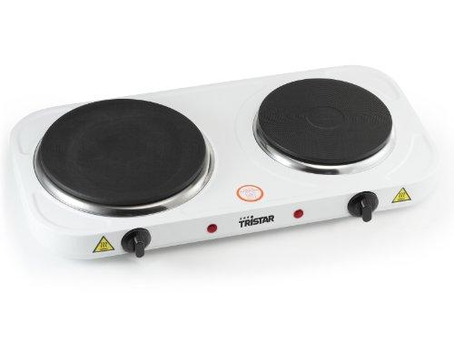 potente para casa Tristar KP-6245 Hobb 2500W Acero inoxidable Blanco