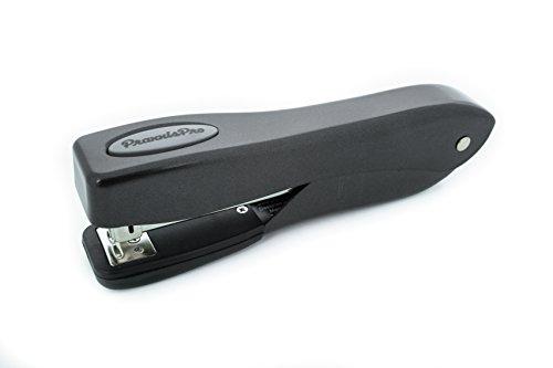Ergonomic Desktop Stapler PraxxisPro Fortis Grip Office Stapler Black