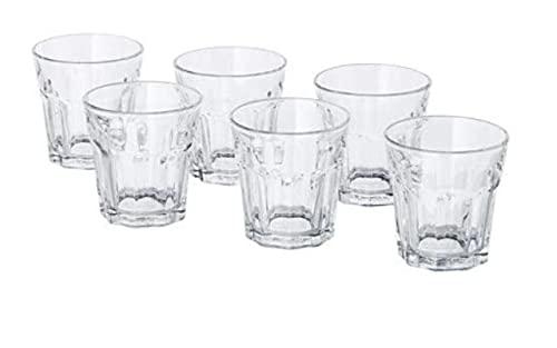 IKEA - Set di 6bicchieri Pokal da grappa o da caffè, 5cl,5cm di altezza,lavabili in lavastoviglie trasparente