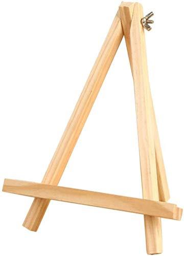 Mini Holz Staffelei Kleine Holz Display Stand Staffelei Dreieck Form Fotohalter Tischdekoration für Hochzeitskarten Künstler Malerei Bilder