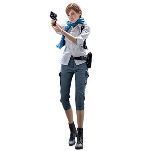 CT-Tribe Military Soldat Actionfigur, 1:6 Weibliches Soldatenspielzeug mit Kurzen Haaren, Militärisches Spielset für Armeefans (30cm)