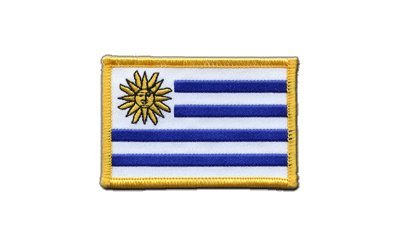 Aufnäher Patch Flagge Uruguay - 8 x 6 cm