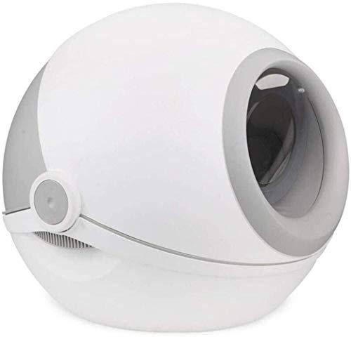 DENG+ Huisdier Toilet Kat Zand Basin Gesloten Grote Draagbare Kat Toilet Deodorant Spill Preventie Kat Litter Box Excrement Basin Handig -grijze Kat Toilet Kat Litter Box Kat Litter Lade