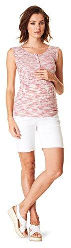 ESPRIT Maternity Kurze Jeans Umstandsshorts/Sommerliche Umstands-Shorts D84008 (44, 100 - White)