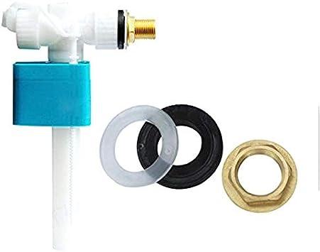 V/álvula de entrada lateral para inodoro Guajave accesorios de cisterna G1//2 ajustables para llenado de flotador