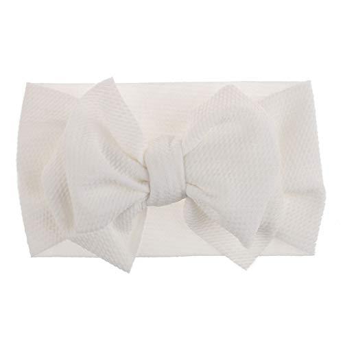Lazzboy 1 Stück Baby Kleinkind Mädchen Bowknot Stirnband Stretch Haarband Headwear Süßes Kinder Kopfband Haarbänder Kopftuch(J)