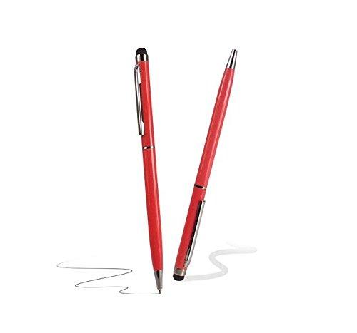 C63® rode touchscreen styluspen met balpen